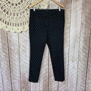 Loft | Marisa Printed Skinny Work Pants